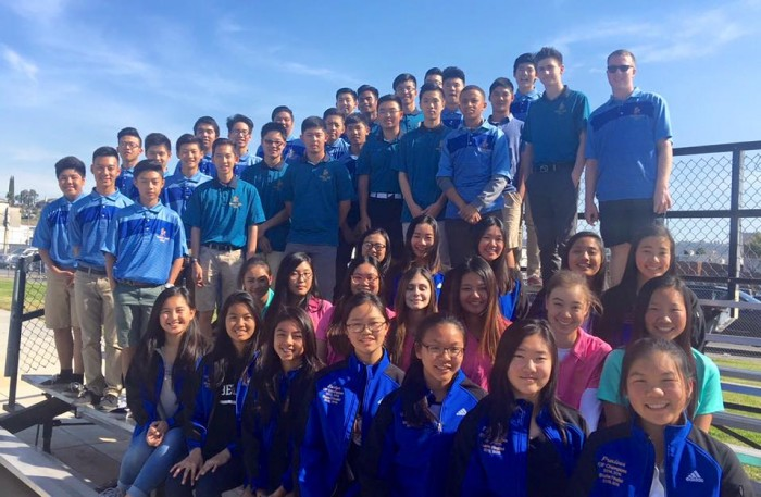 2015 - 2016 Walnut High School Golf Team (Boys/Girls)